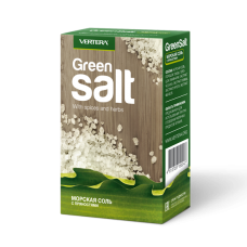Зеленая соль Green salt (морская соль с пряностями), Vertera, 350 г